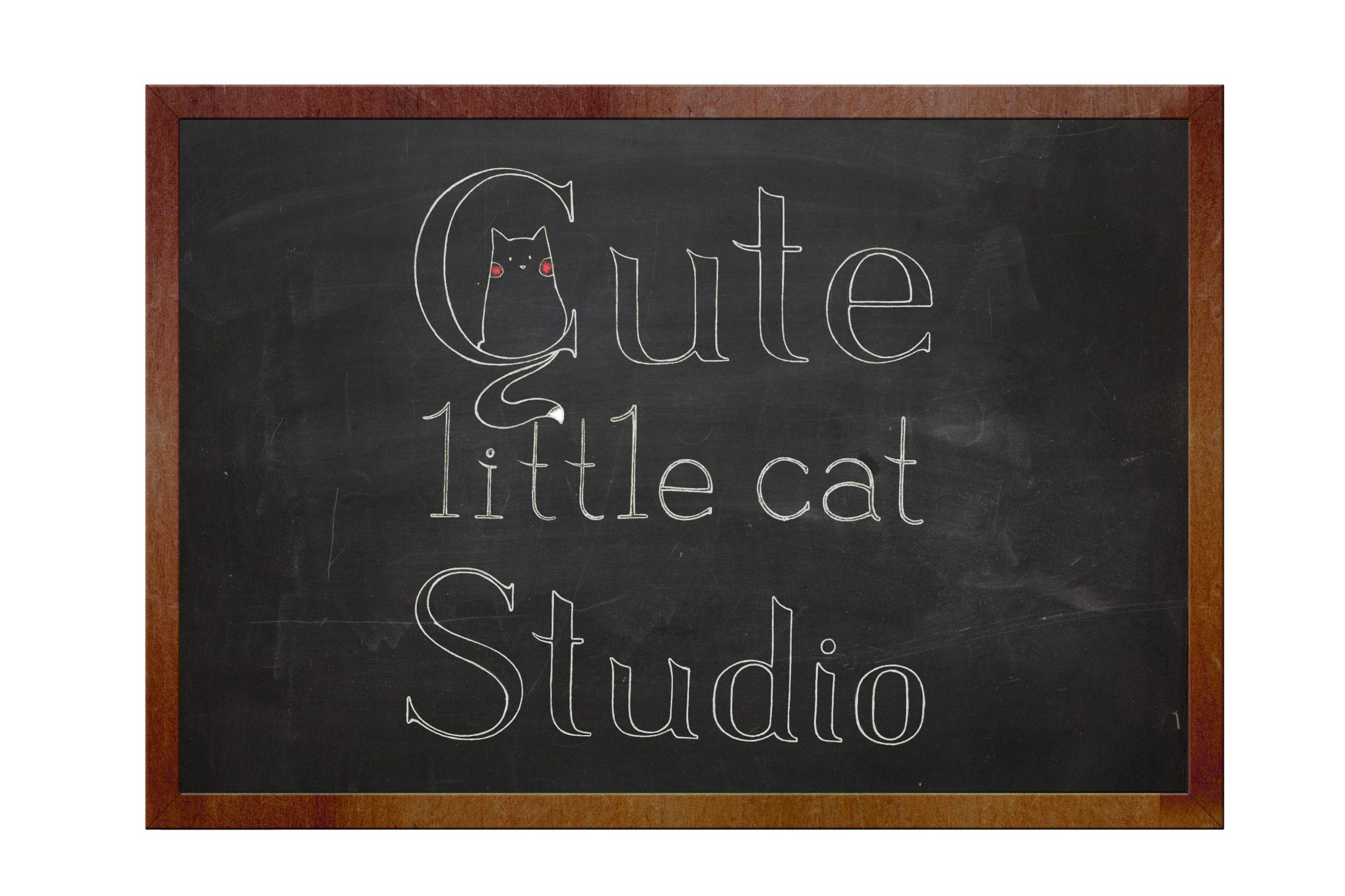 Blackboard_cat